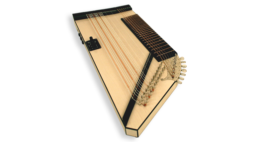 e-Zither hollow body
