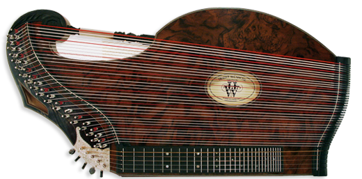 "Luftresonanz Harfenzither Model ""Wilfried Scharf"" Art. 30142"